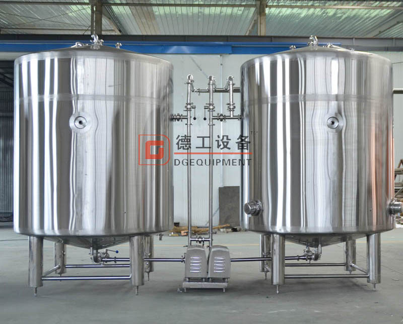 hot water tank and cold water tank