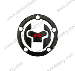 Fuel Tank Cap 3D Sticker Carbon Look For SUZUKI GSXR 750