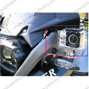 CNC Indicator And Camera Support Bracket For BMW F650GS F700GS F800GS 2013-2017