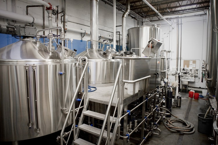 middle size beer brewing system