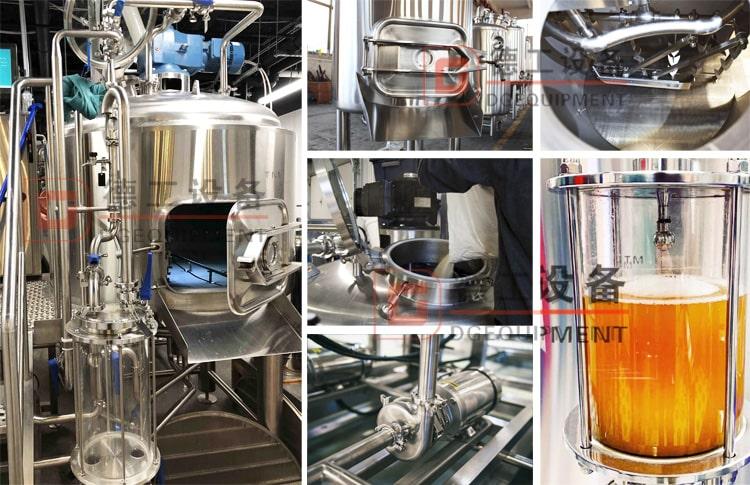 beer mashing system lauter tank