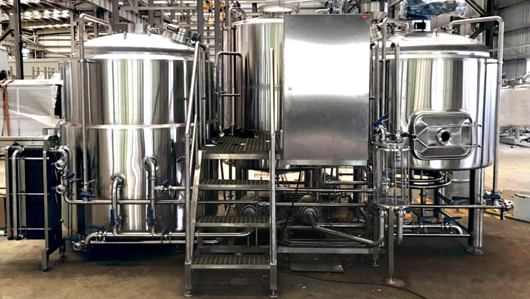 1500l brewery equipment brewhouse