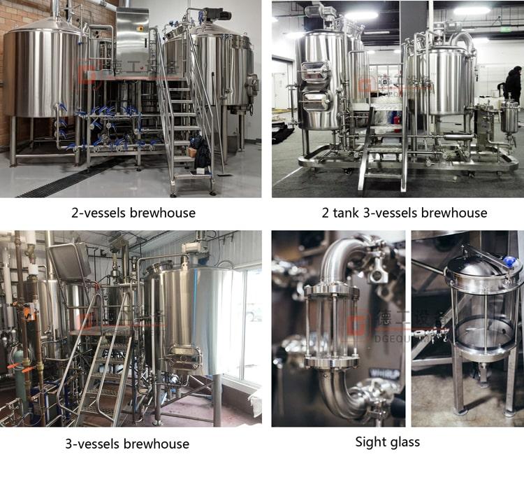 1000L brewing system