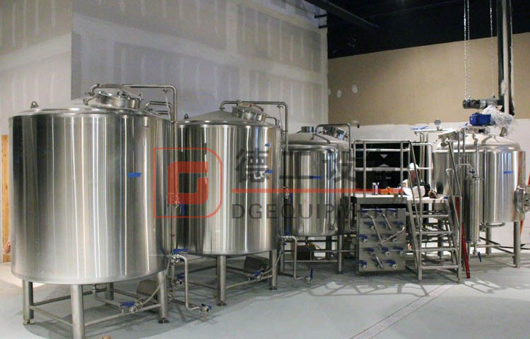 stainless steel beer brewing plant