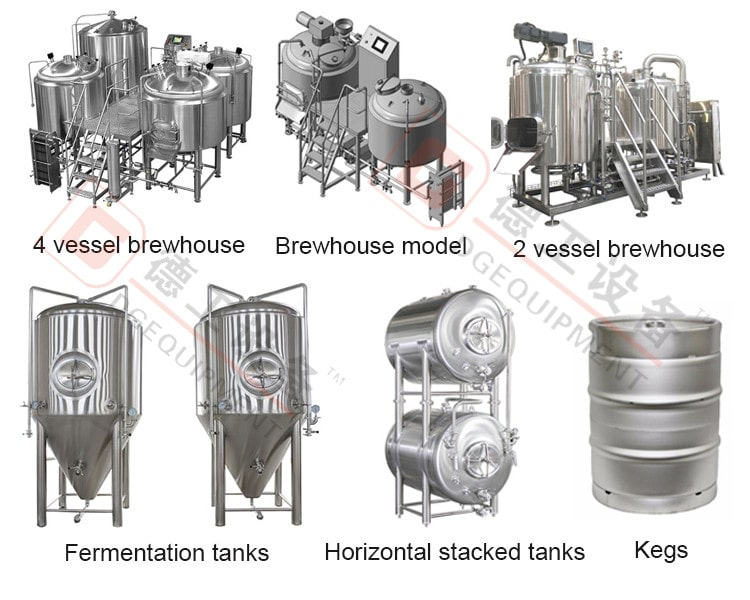 beer production plant