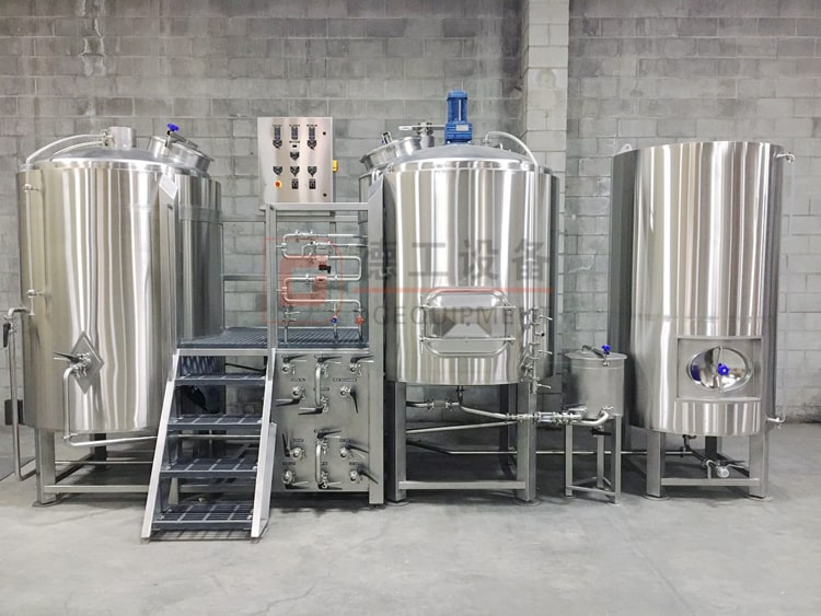 stainless steel microbrewery