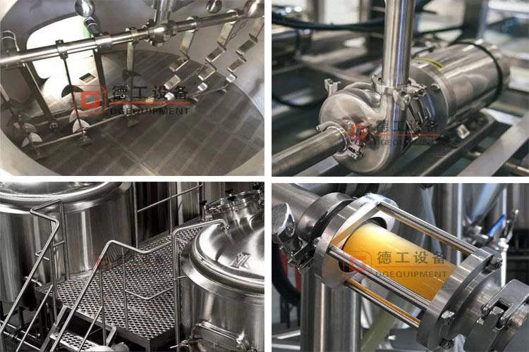 Raker&Pump&Platform&Sight glass-brewhouse