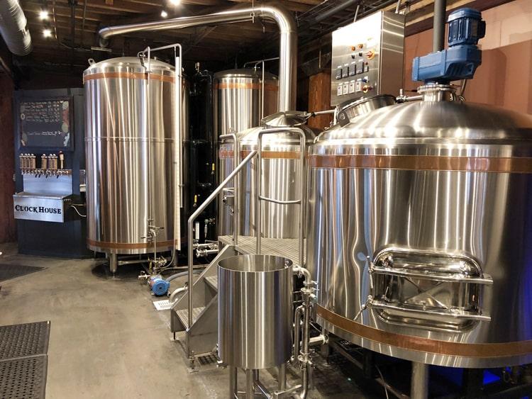 2 vessels beer mashing system