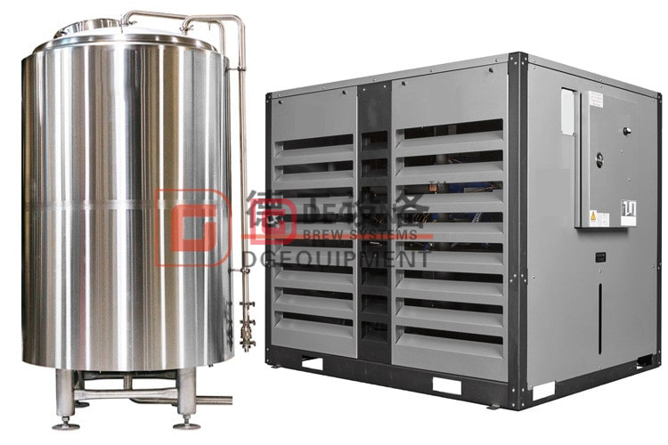 cold water tank and chiller-min