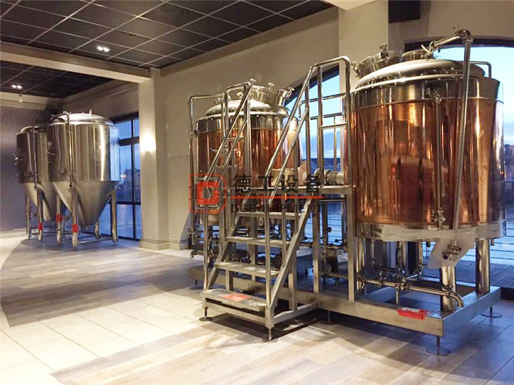 copper 10hl beer brewery