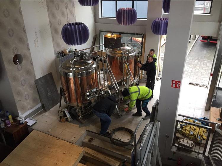 500L copper brewing equipment