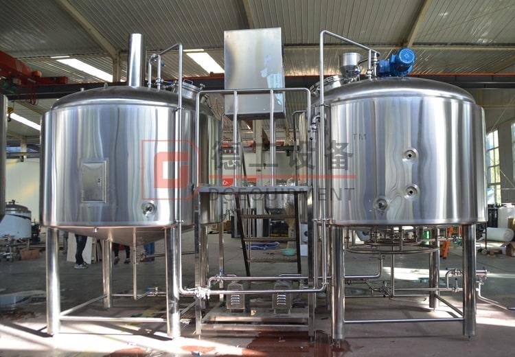 2-vessels beer brewhouse