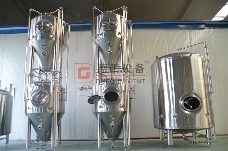 Stackable fermentation tank
