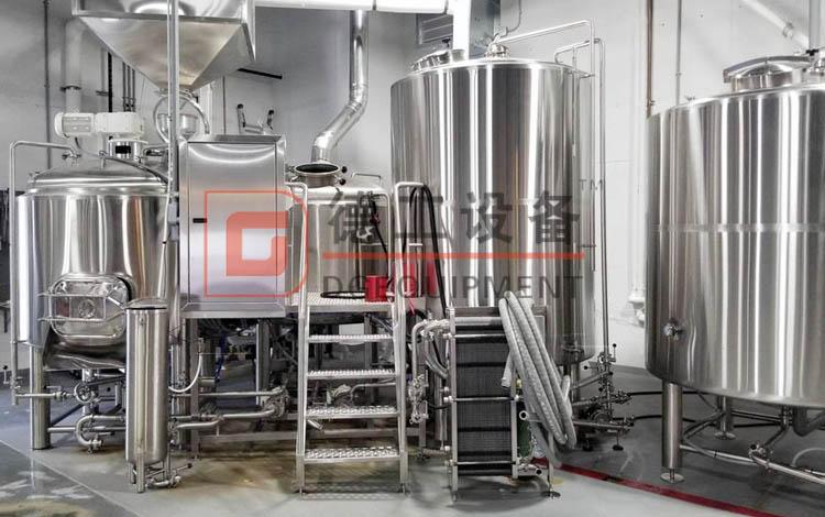 600L brewing equipment