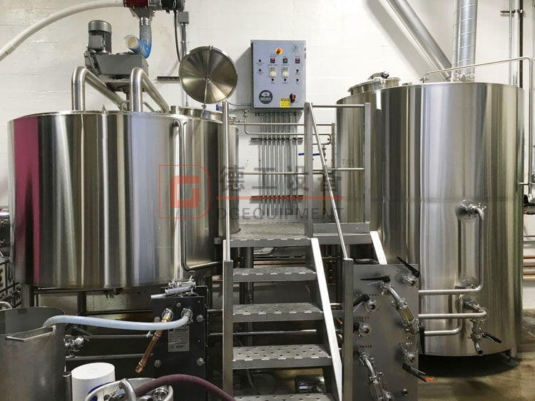 2 tank 3 vessel brewhouse