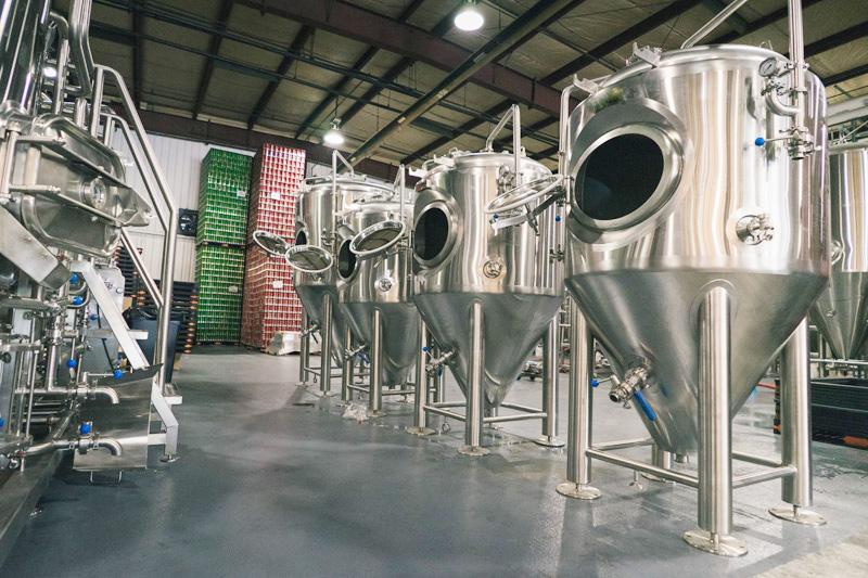 1000L tangki fermentasi isobarik
