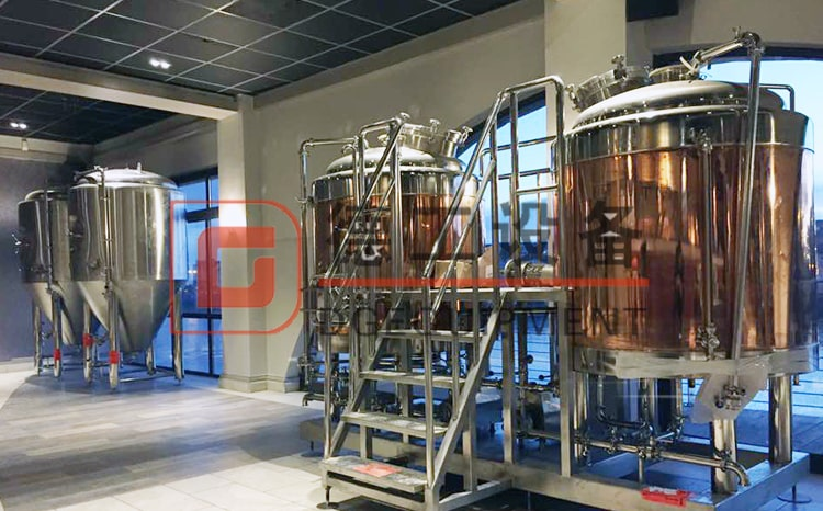 5hl brewing equipment copper beer brewhouse