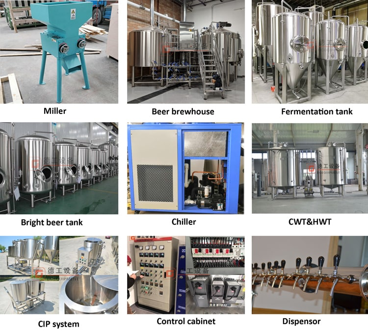 DEGONG complete beer brewing system