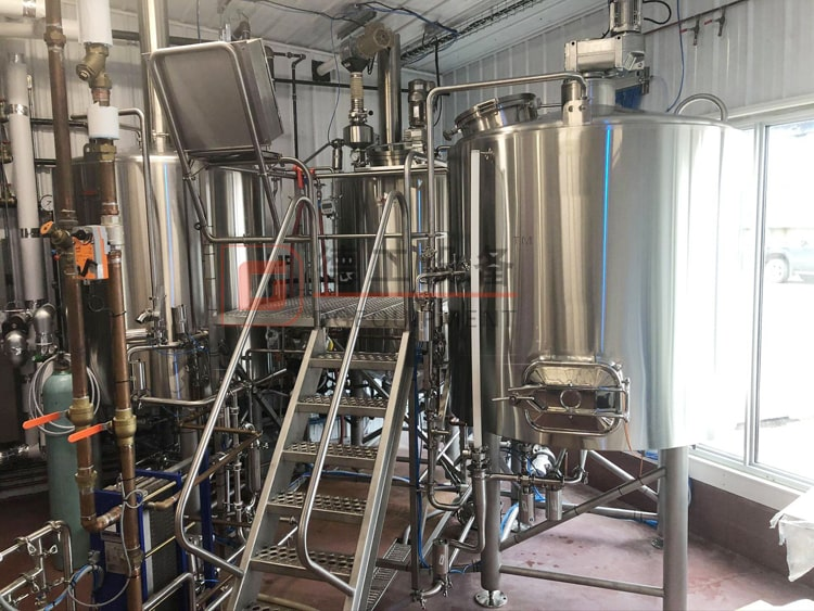 1000L micro brewery equipment 3 vessels beer brewhouse