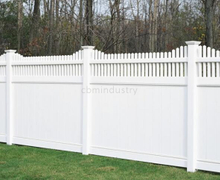 PVC FENCE WHITE COLOR