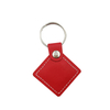 Number24 RFID Leather Keyfob Square
