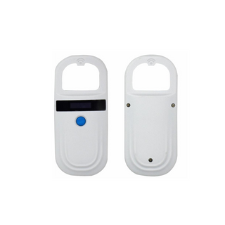 134.2Khz RFID Animal Tag Scanner With 128PCS Code Storage