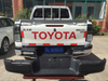 HILUX REVO 2015- REAR BUMPER BLACK