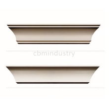 Plain crown moulding