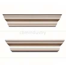 PU Simplicity Plain crown moulding