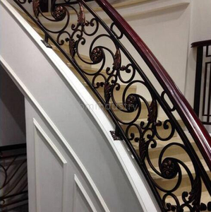 Flower Decorative Iron Railing