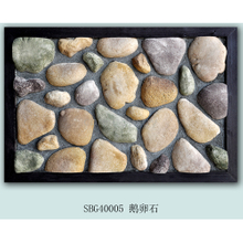 Multicolor wall cobblestone tile ledgestone panel natural culture stone