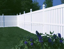 PVC FENCE WITH TOP TIPCKET