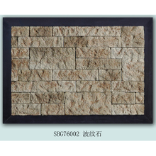 Multicolor wall Moire stone tile ledgestone panel natural culture stone
