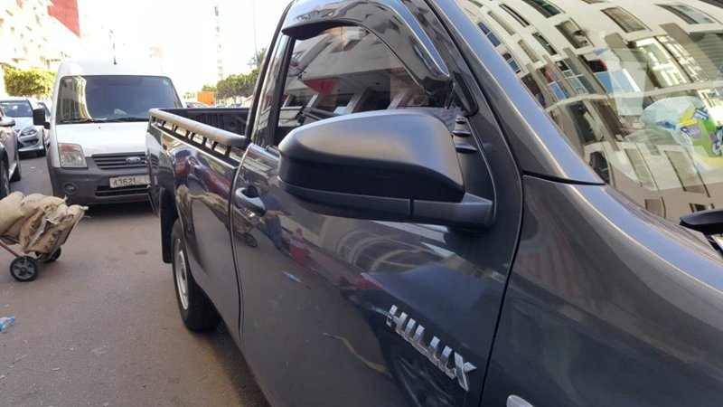 HILUX REVO 2015- MIRROR WITHOUT LAMP