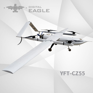 YFT-CZ55 Hybrid Engine Long Range VTOL Fixed Wing UAV/Drone