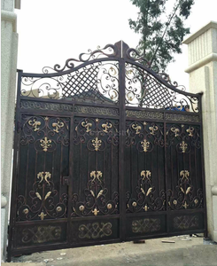 Beautiful Good Quality Modern Wrought Iron garden Gate