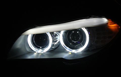 Is the led headlight hotter than halogen lamp, led headlights should not be dustproof?
