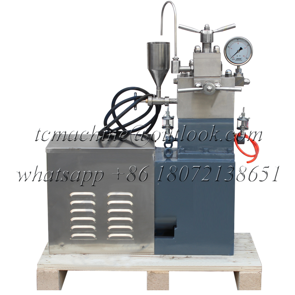 High pressure homogenizer (30L~60L/H)