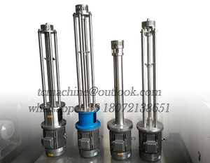 High Shear Homogenizer with Sloted Fine Mesh Claw Emulsifying Head