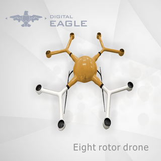 Eight Rotor Drone Frame DE81300
