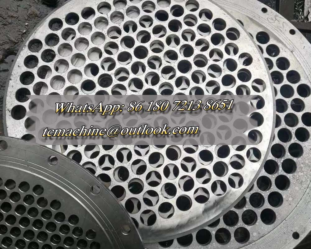 Shell and Tube Heat Exchanger with Customized Heat Exchange Area Made by Stainless Steel 304 / 316L