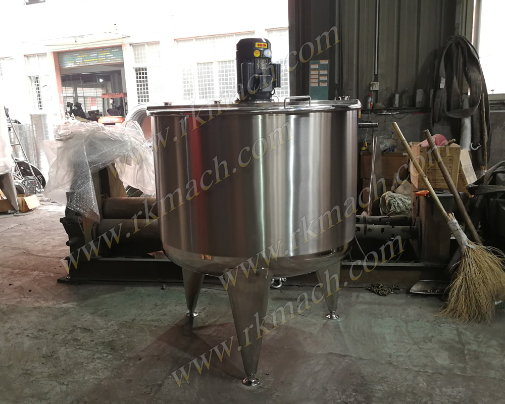 200~1500L Tank with Homogenizer