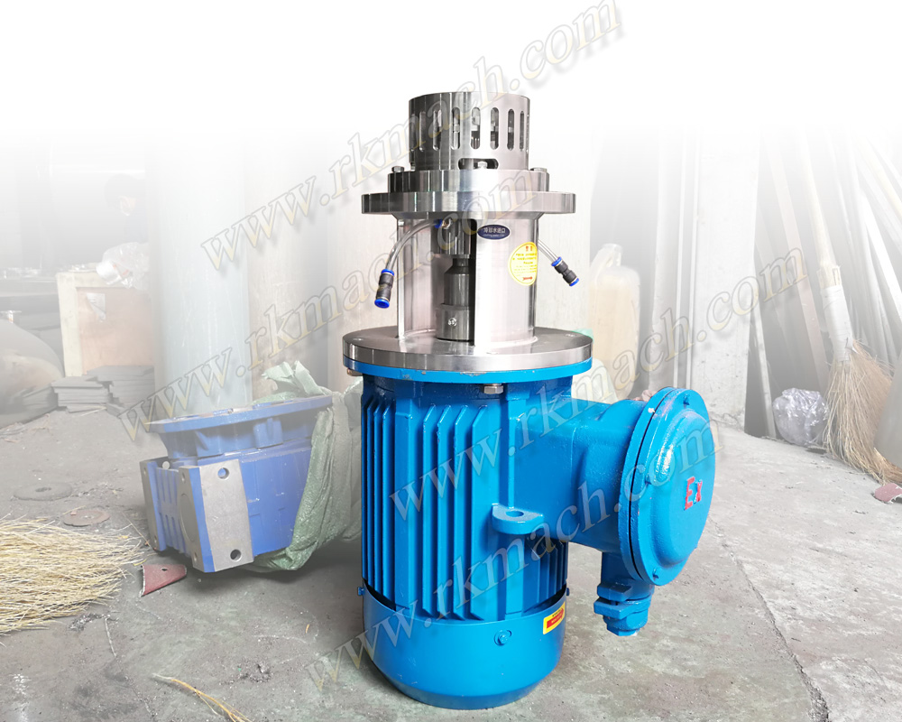 EX-proof bottom entry side entry shear disperser emulsifying mixer