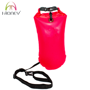 20L PVC Outdoor Waterproof Kayaking Drift Bag River Life-saving Swimming Buoy Dry Bag