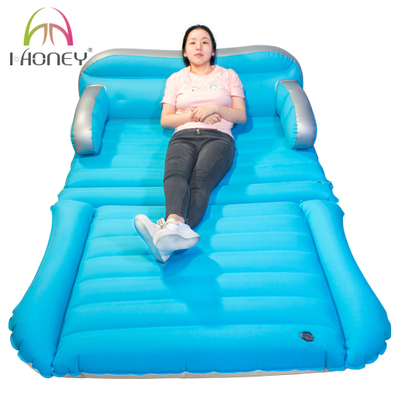 Convertible SUV Inflatable Air Mattress Cloth Coverage Car Bed