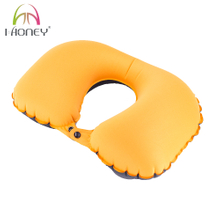 Inflatable Air U Shaped Neck Travel Pillow